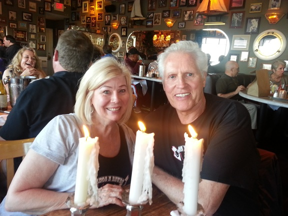 Mom & Dad at the Deadfish