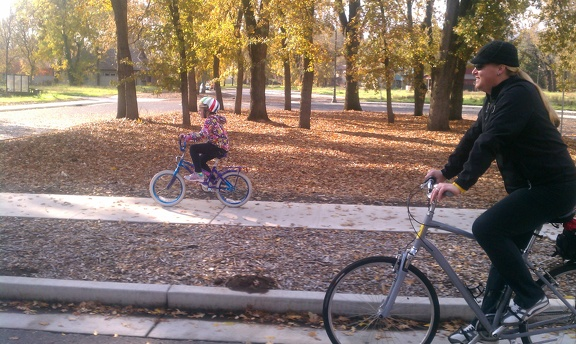 Riding lower park in Chico