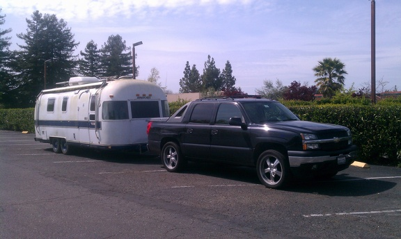 Aaahhh, the Airstream on day 1