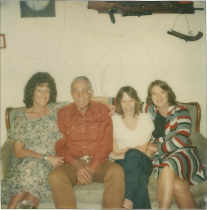 Caroll, Bill, Janette, and Bonnie Chrestman, circa 1982